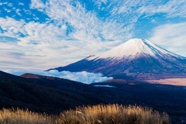 富士山 - yamanaka lake ストックフォトと画像