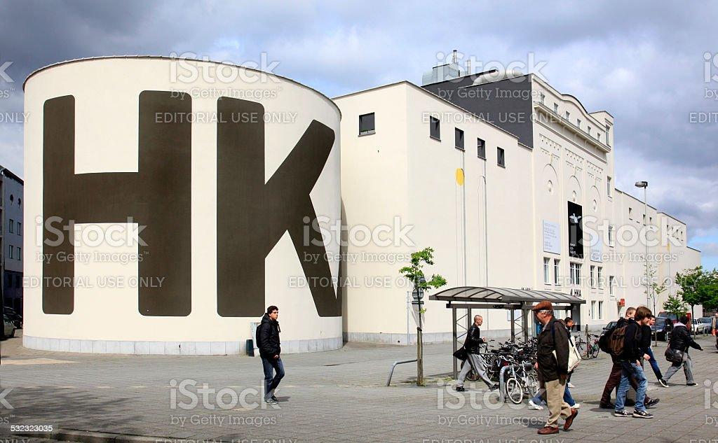 Le musée MUHKA, Anvers, en Belgique. - Photo