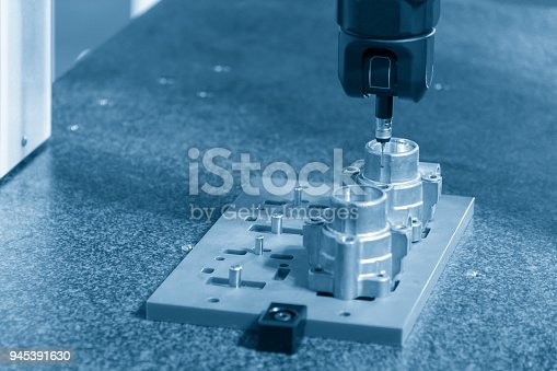 istock The multi-axis CMM machine 945391630