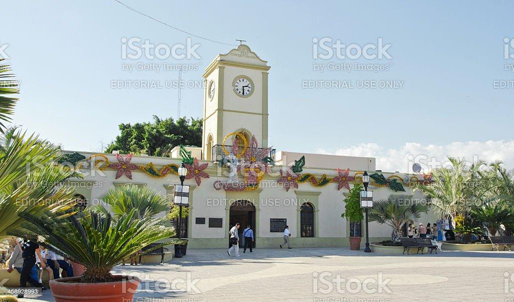 The Municipal Building- San Jose del Cabo royalty-free stock photo