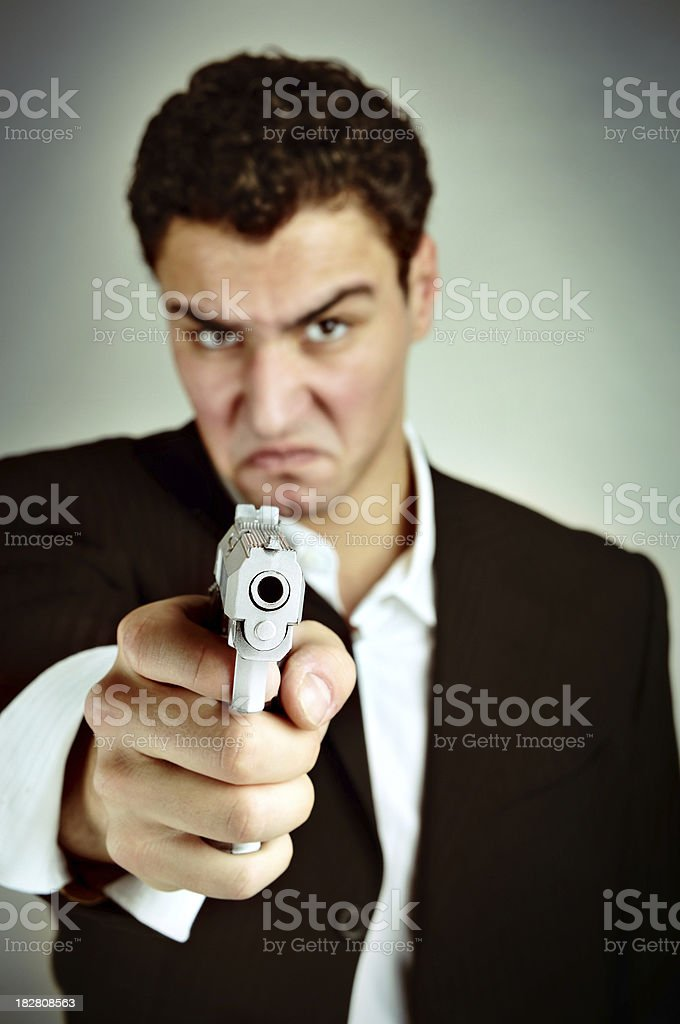 The Murderer royalty-free stock photo