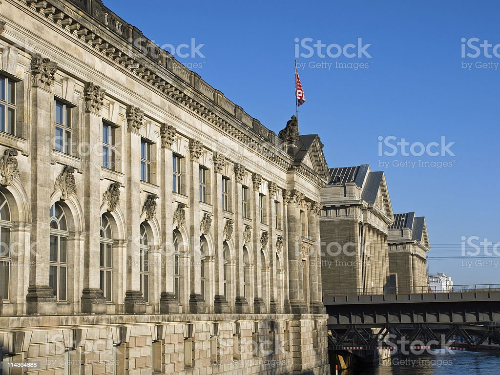 The Museumsinsel in Berlin stock photo