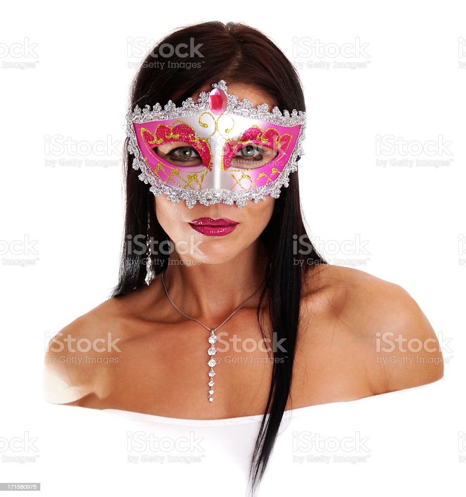 The mysterious lady stranger royalty-free stock photo