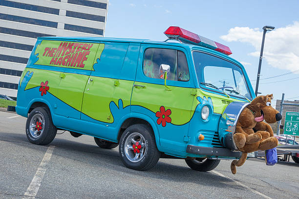 The Mystery Machine stock photo
