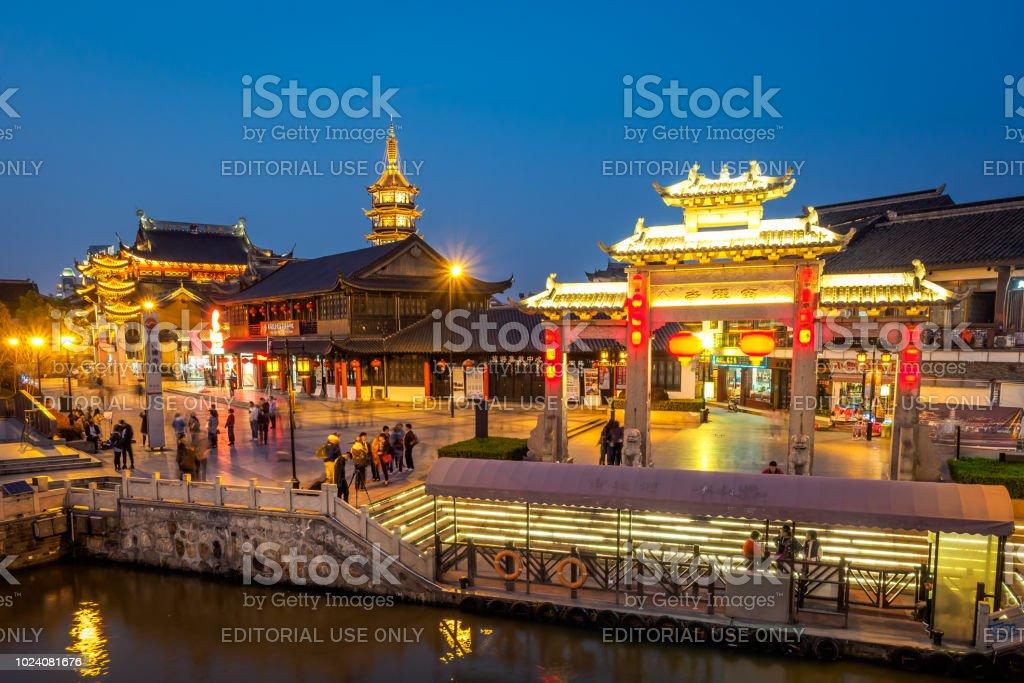 Der Nanchan-Tempel in Wuxi. – Foto