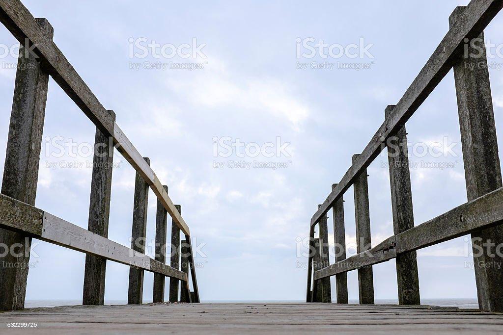 The Narrow Gate stock photo
