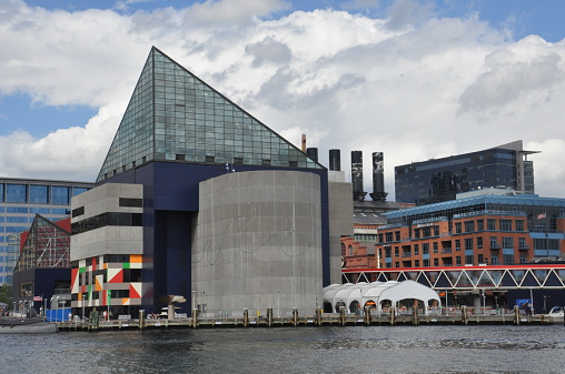 The National Aquarium At The Inner Harbor In Baltimore ...