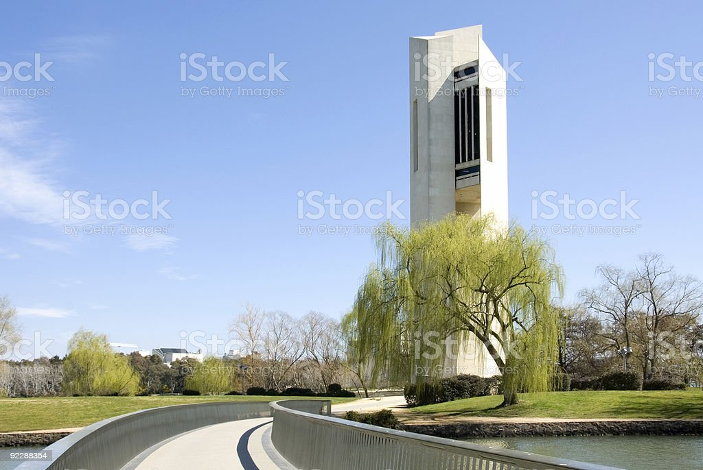 The National Carillion stock photo