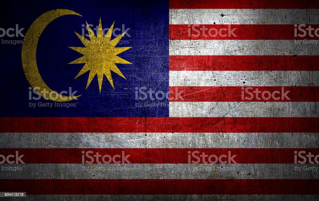 A bandeira nacional da Malásia - foto de acervo