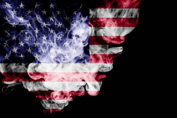 ABD ulusal bayrak stok fotoğrafı