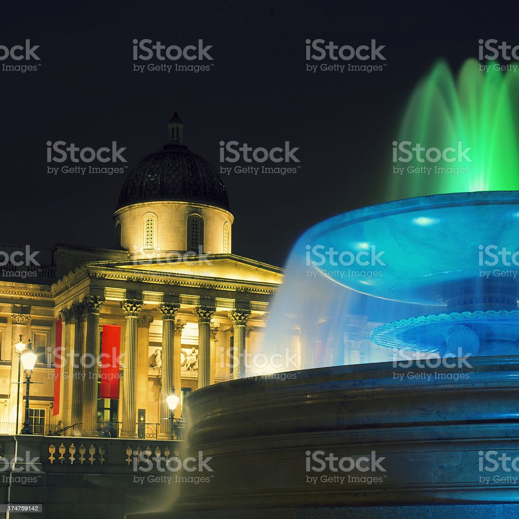 The National Gallery London royalty-free stock photo