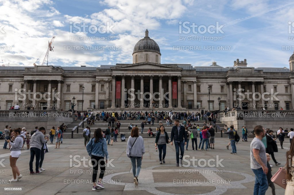 The National Gallery zbiór zdjęć royalty-free