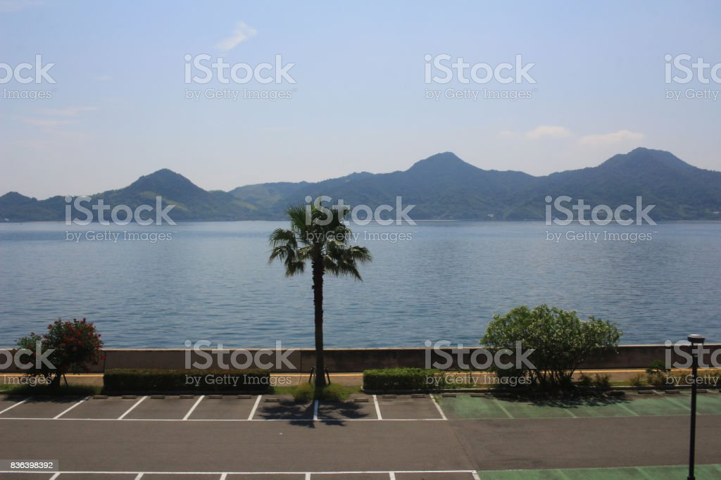 the National Highway 185 Line stock photo