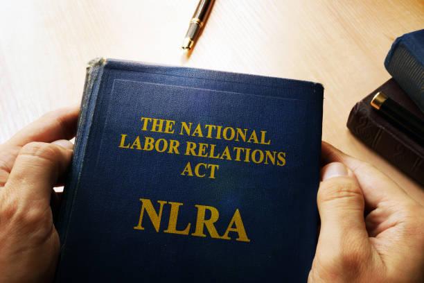 ulusal işçi ilişkileri yasası (nlra) kavramı. - ulusal miras stok fotoğraflar ve resimler