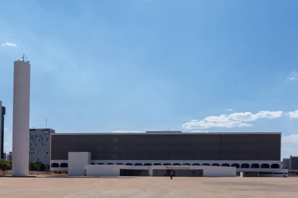 A biblioteca nacional de Brasília - foto de acervo