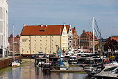 istock The National Maritime Museum and the marina in Gdask. Poland 1329091093