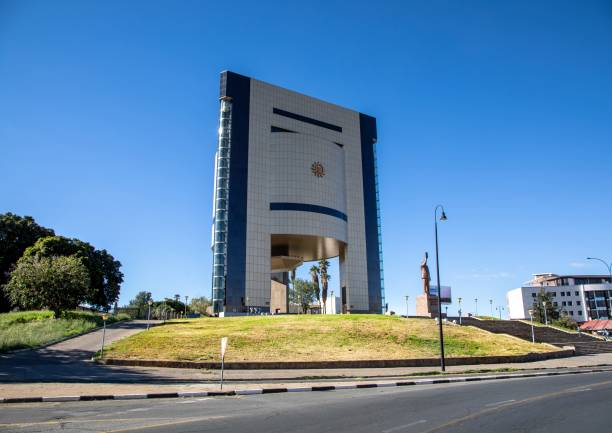 The National Museum in Namibia's capital, Windhoek stock photo