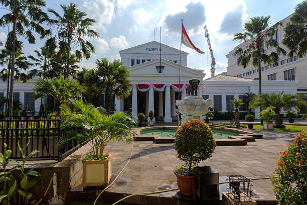 The National Museum of Indonesia, Jakarta stock photo