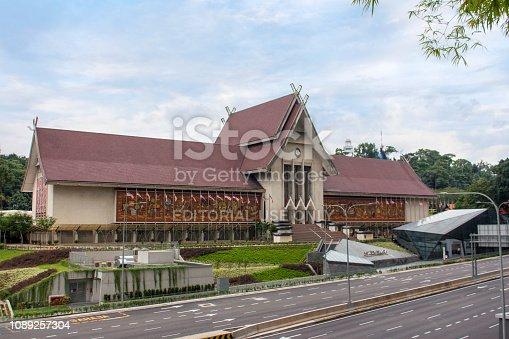 kuala lumpur, capital city, malaysia, asia, architecture, building, museum, heritage, archive, Minangkabau, Rumah Gadang, Muzium Negara