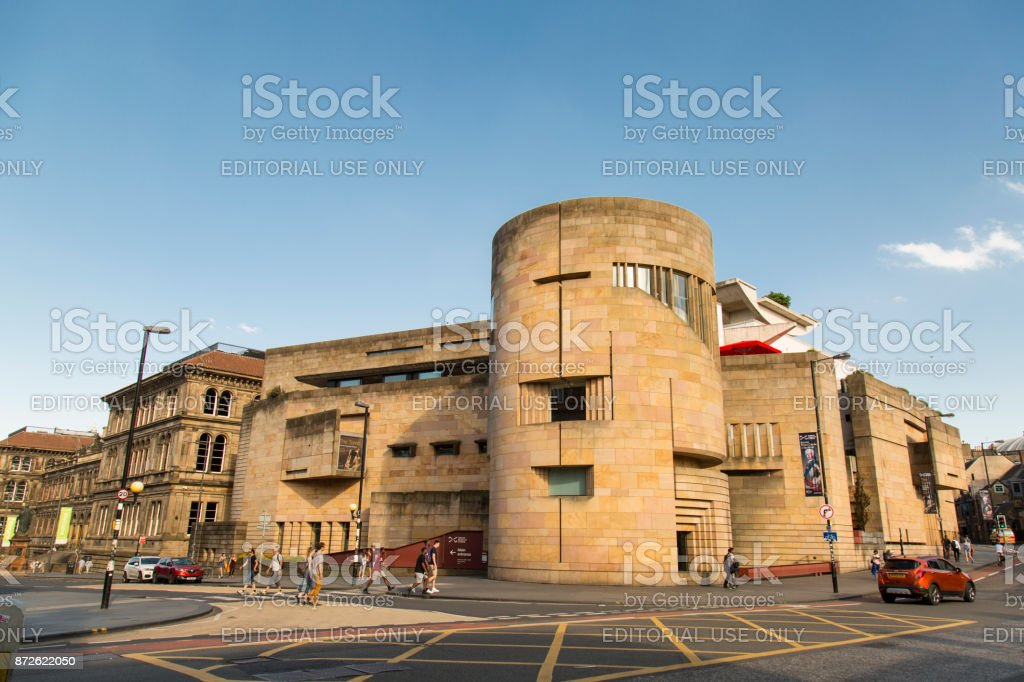 The National Museum of Scotland stock photo