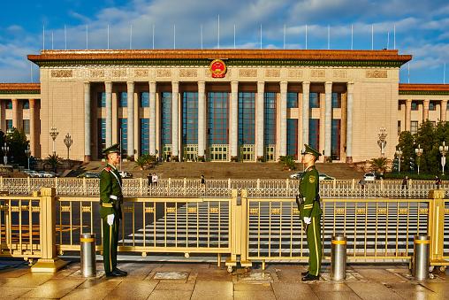 Il Congresso Popolare Nazionale Cinese Beijin - Fotografie stock e altre immagini di Asia