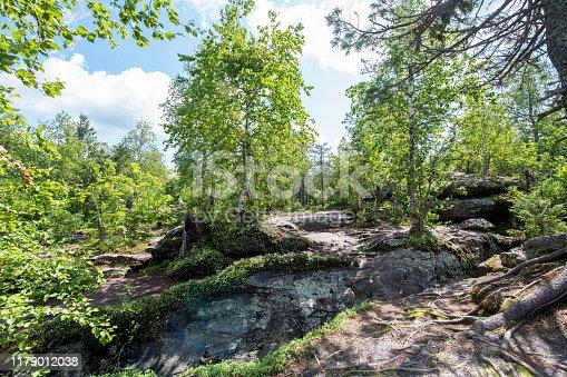 Kamenny Gorod in the Perm Region in the Urals, Russia. Nikpon D850.