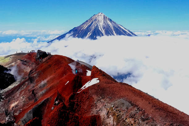 The nature of Kamchatka, the mountains and volcanoes of Kamchatk The nature of Kamchatka, the mountains and volcanoes of Kamchatka kamchatka peninsula stock pictures, royalty-free photos & images