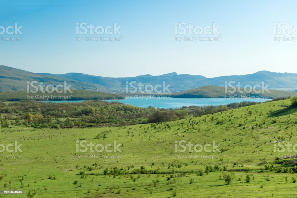 The nature of the Crimea is a beautiful place royalty-free stock photo