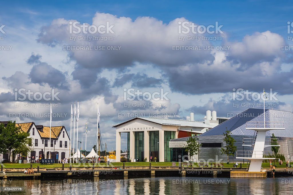 The Naval Museum stock photo