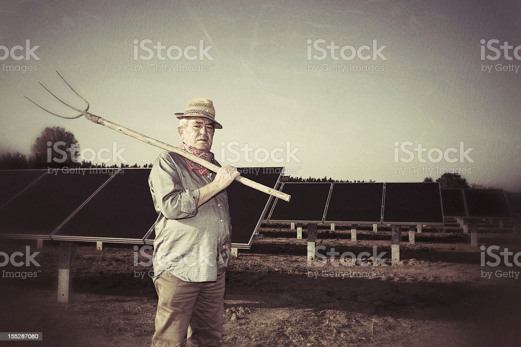 The New Agriculture royalty-free stock photo
