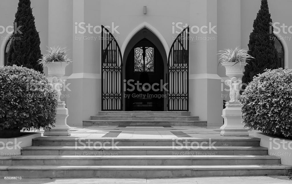 The new church is not in use. foto de stock royalty-free