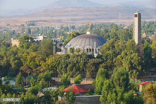 istock The new Church of Our Lady Mary of Zion, Aksum, Ethiopia 528906797