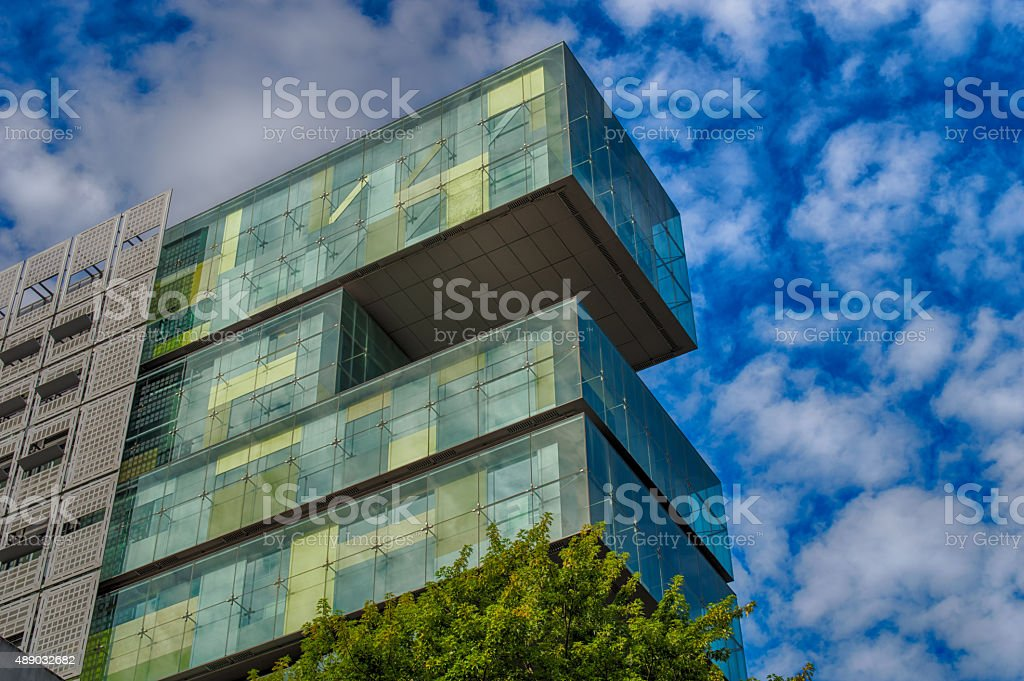 The new Civil Justice Centre in Manchester stock photo