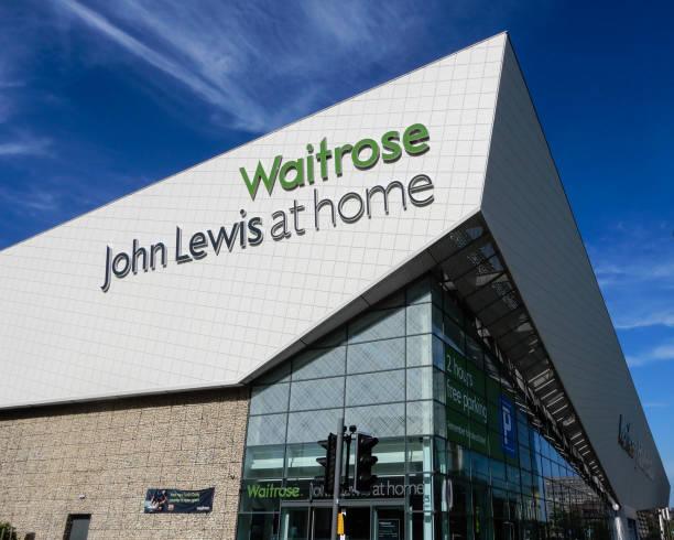 新組合維特羅斯超市和約翰路易斯家超市邱吉爾方式 - john lewis 個照片及圖片檔