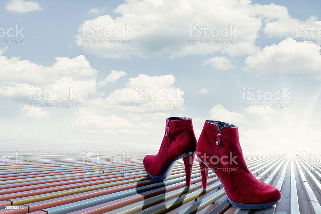 The New High Heels Season Starts Now! stock photo