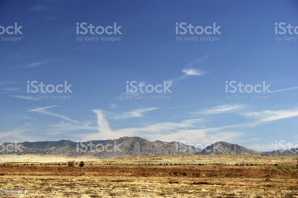 The New Mexico Desert royalty-free stock photo