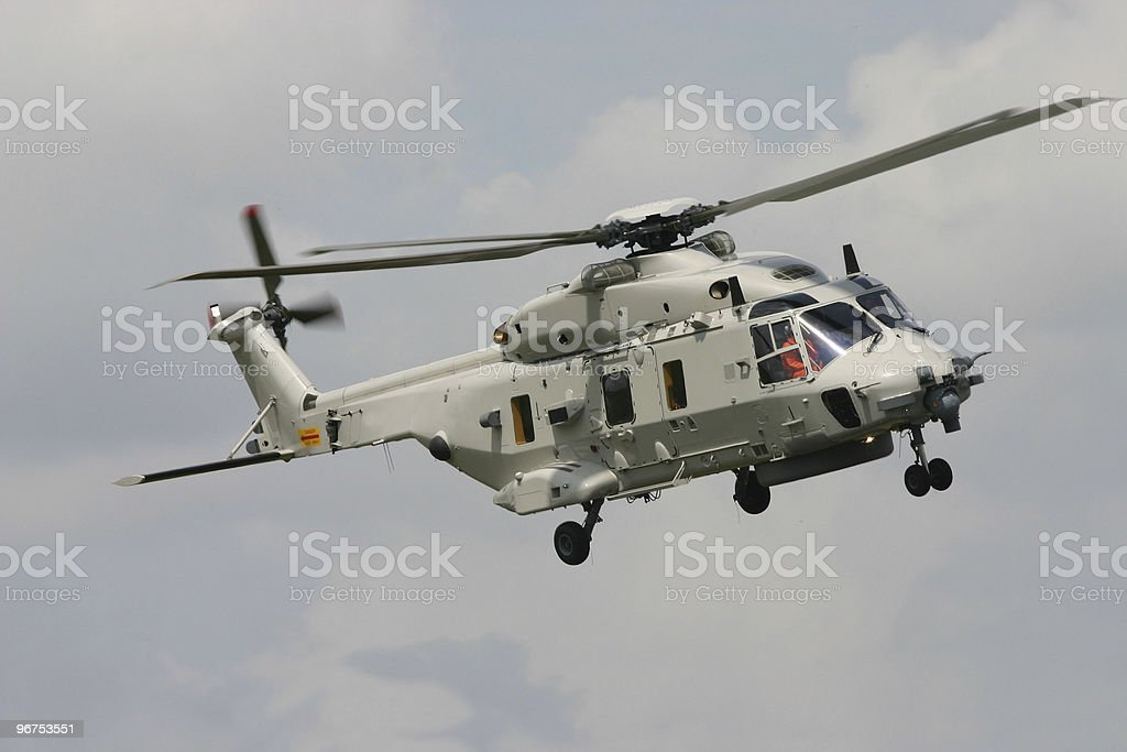 The NEW NH90 helicopter royalty-free stock photo