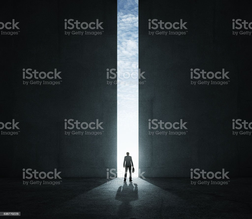 The new opportunities stock photo