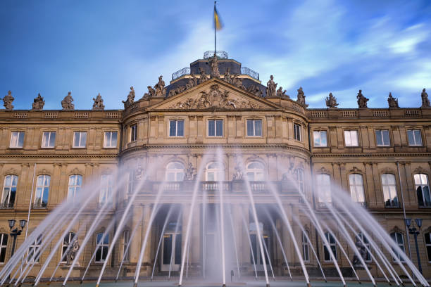 Das neue Schloss, Stuttgart, Deutschland – Foto