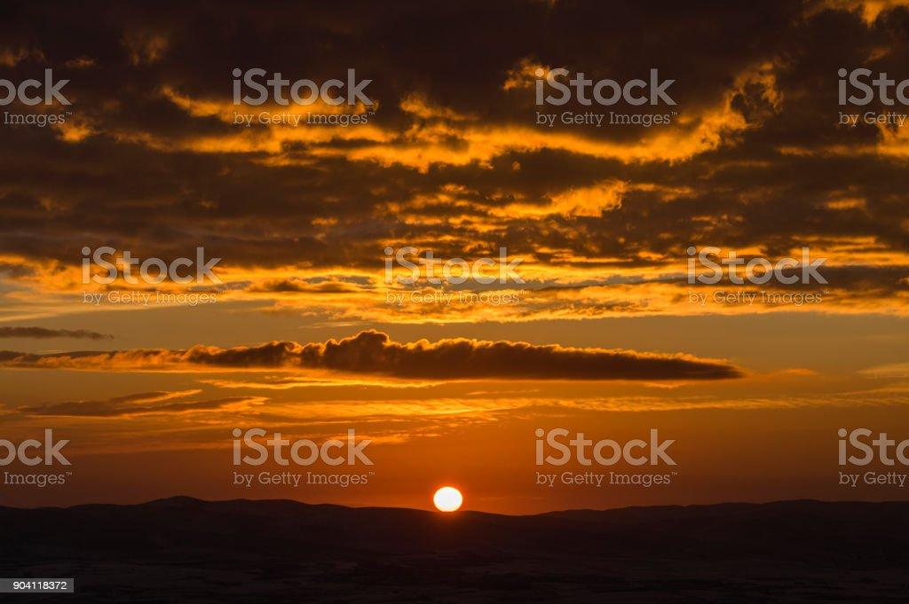 Yeni güneş stok fotoğrafı