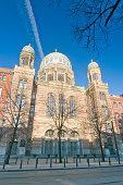 The New Synagogue in Berlin, Oranienburger Straße, Germany