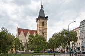 The New Town Hall was founded in the 14th century by Charles IV as an important building of Prague New Town