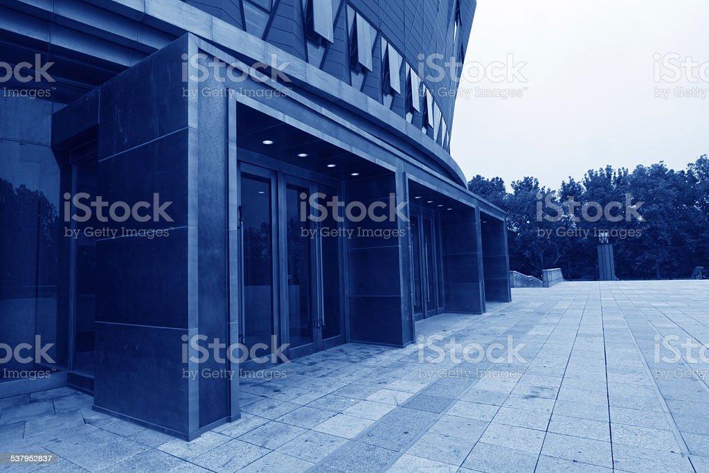 The new Tsinghua School in Tsinghua University in Beijing, china stock photo
