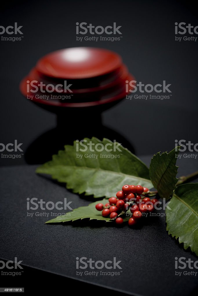 The New Year image of cup stock photo