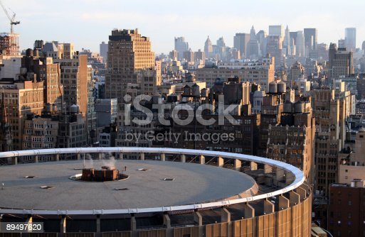 28th Floor, 5th Avenue, 34th Street New York. Roof of Madison Square Garden.