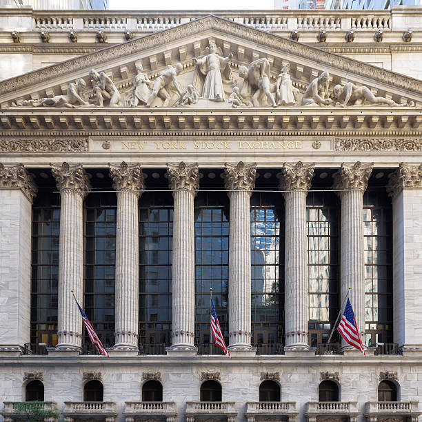 the new york stock exchange - new york stock exchange stock pictures, royalty-free photos & images