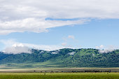 The Ngorongoro Crater Conservation Area in Tanzania