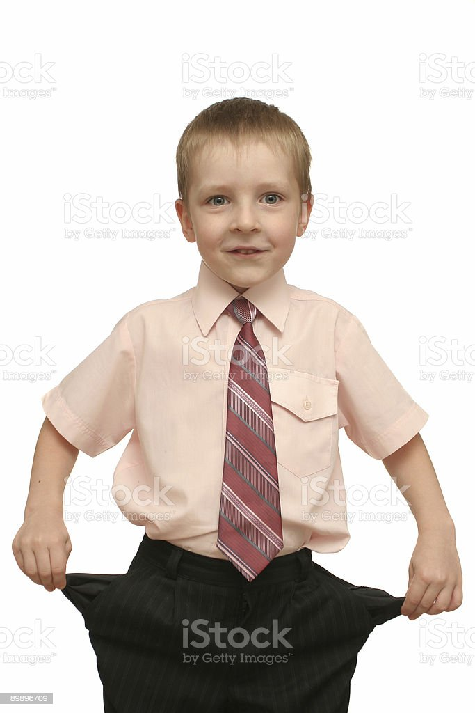 The nice boy royalty-free stock photo