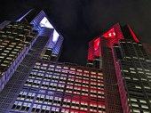 The night in Shinjuku city