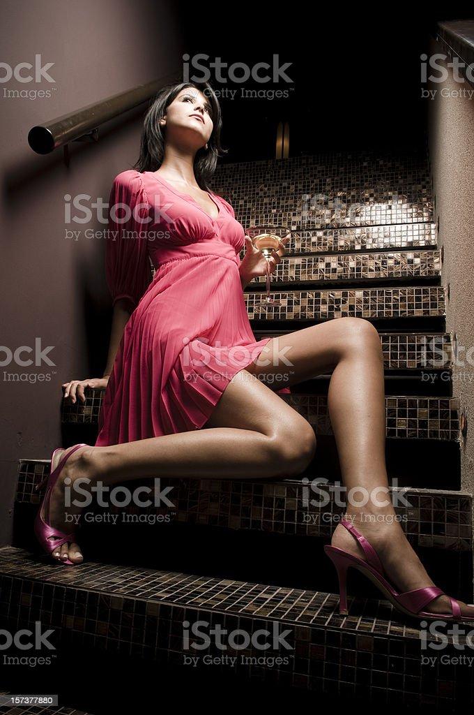 The nightclub stock photo